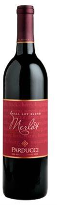 Parducci Merlot Small Lot Blend